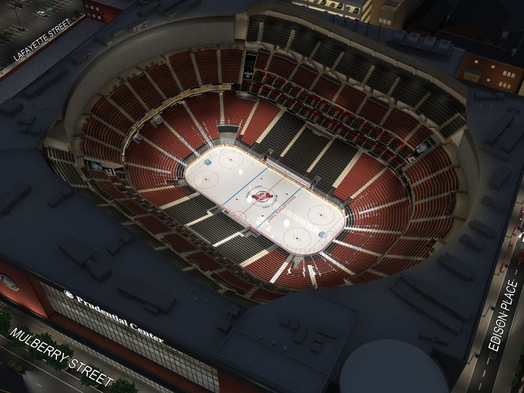 Prudential Center Seating Chart 3d Di 2020