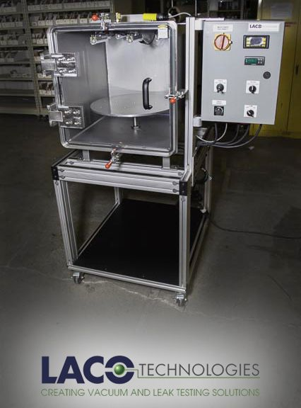 Vacuum Potting, also known as vacuum encapsulation, uses vacuum to encapsulate or encompass a part or product with a potting compound. This process is often used to protect products from moisture, contaminants and mechanical damage. Find out more: http://www.lacotech.com/vacuumtechnologysolutions/vacuumpotting.aspx #vacuumchamber