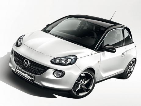 Irmscher Opel Adam Individualisierung Mit Tieferlegung Und
