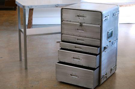 vintage metal office furniture. REHAB Vintage Interiors - Steel Desks, Retro Office Furniture, Metal Lawyers Cabinets ( Furniture