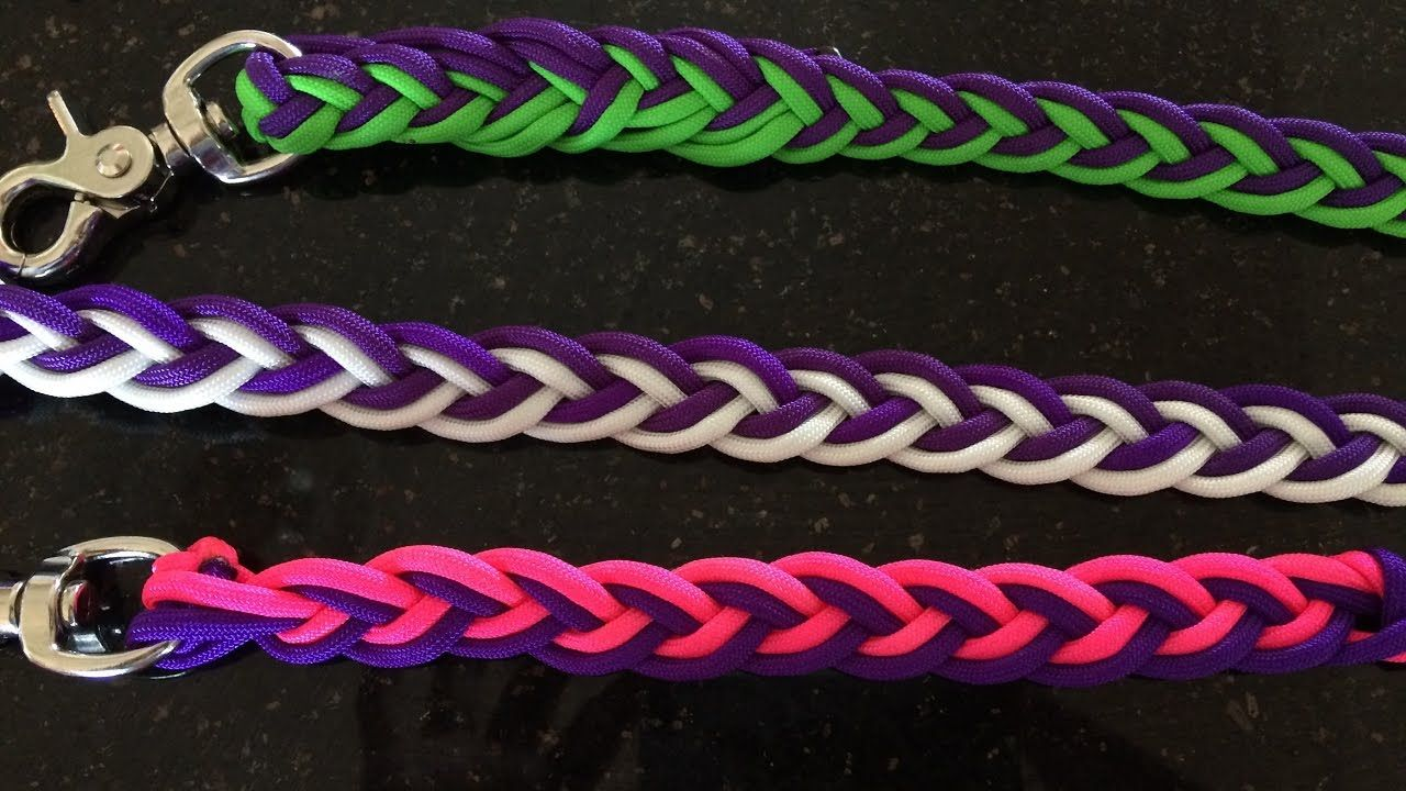 Pretty In Pink Paracord Reins