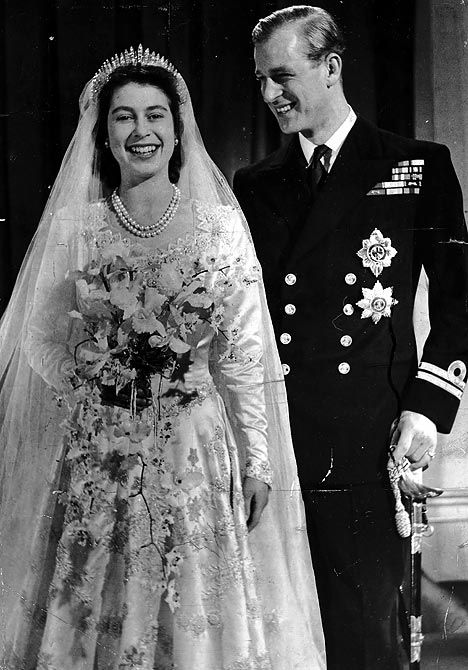 Everything You Ever Wanted To Know About Queen Elizabeth S Wedding To Prince Philip Queen Elizabeth Wedding Famous Wedding Dresses Royal Wedding Dress