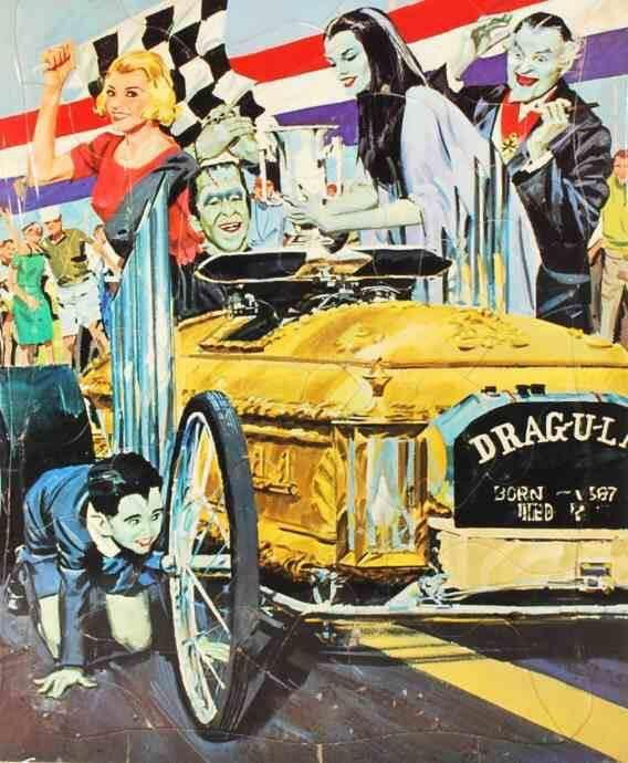 Pin By Barb Blash On The Munsters The Munsters Cool Car