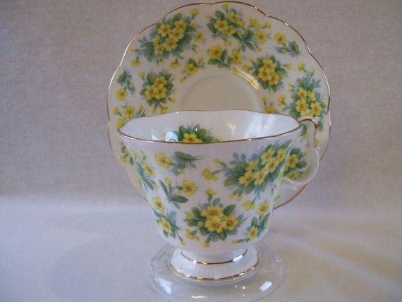 Royal Albert Teacup and Saucer by Amitea on Etsy, $11.00