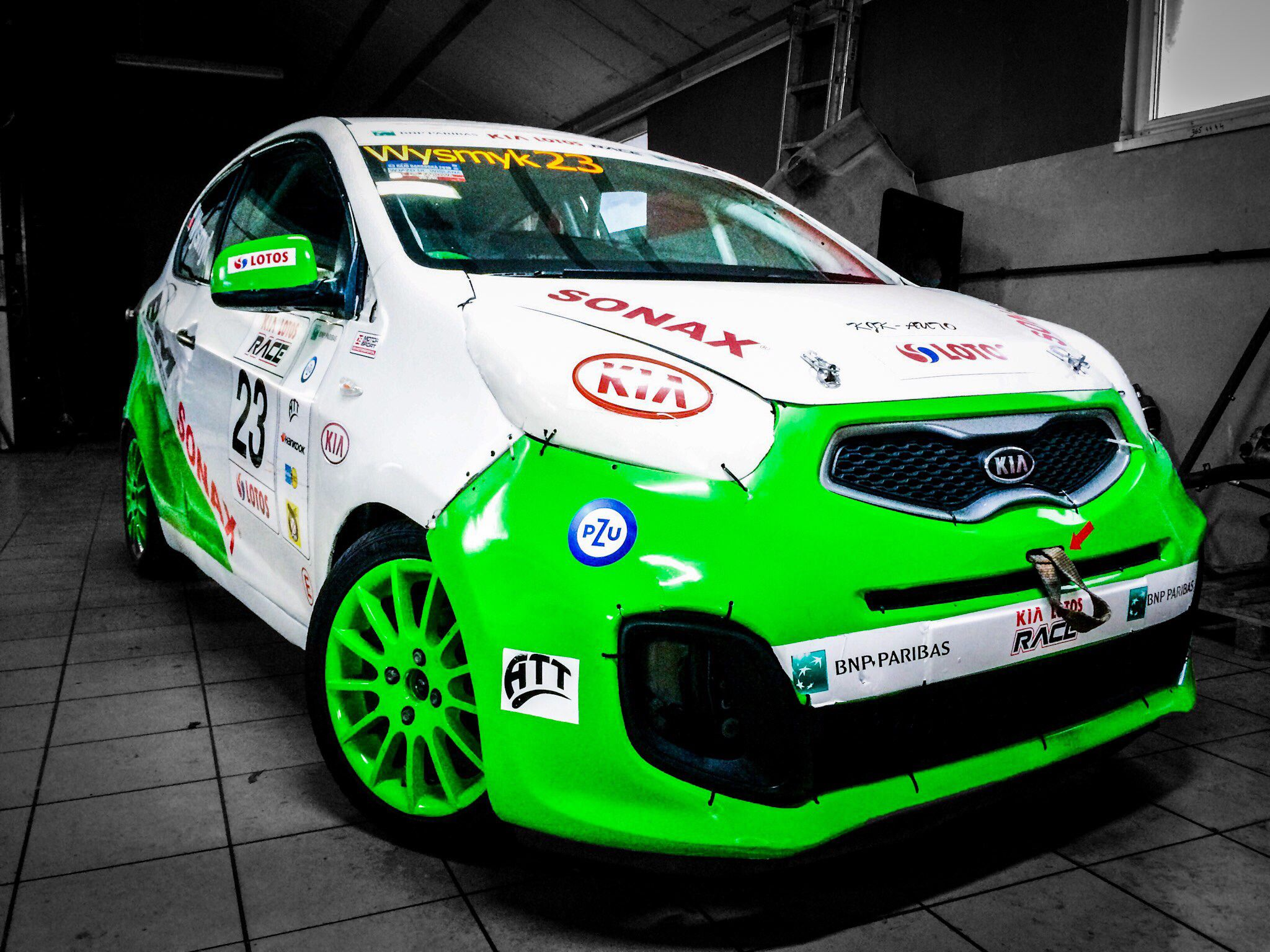 Kia picanto by bm racing team