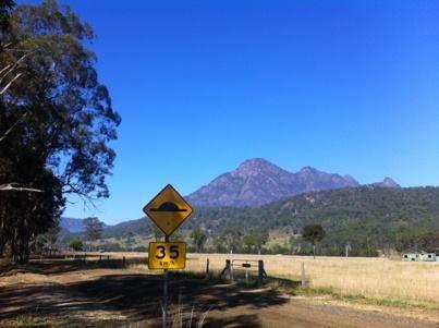 WARNING - large mountain ahead!