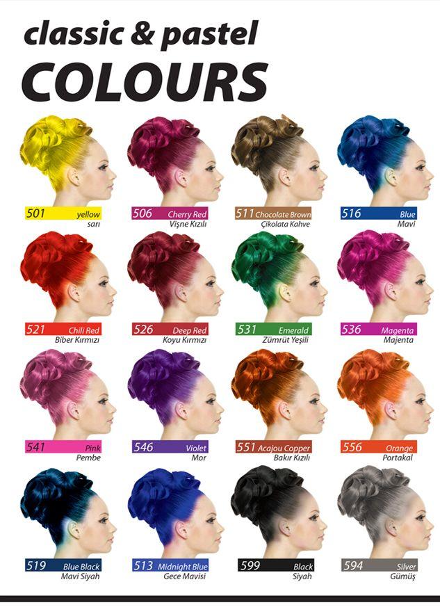 Jamaican Jean S Colour Crazy Hair