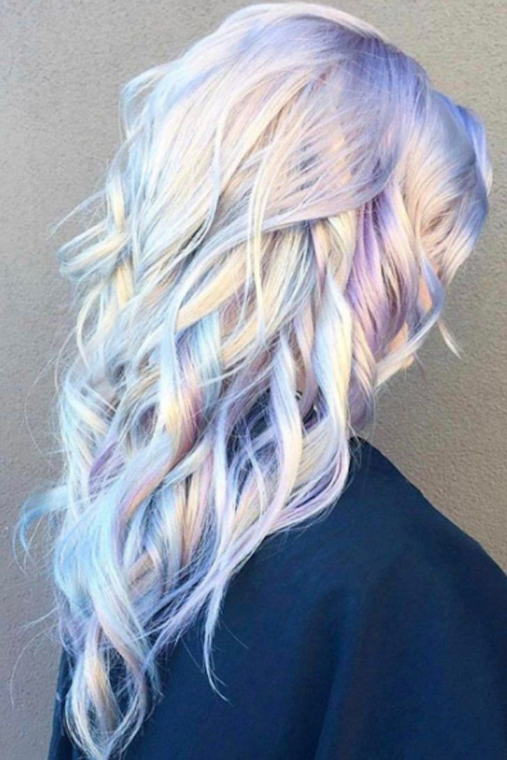 The prettiest pastel hair colors on pinterest colorful hair
