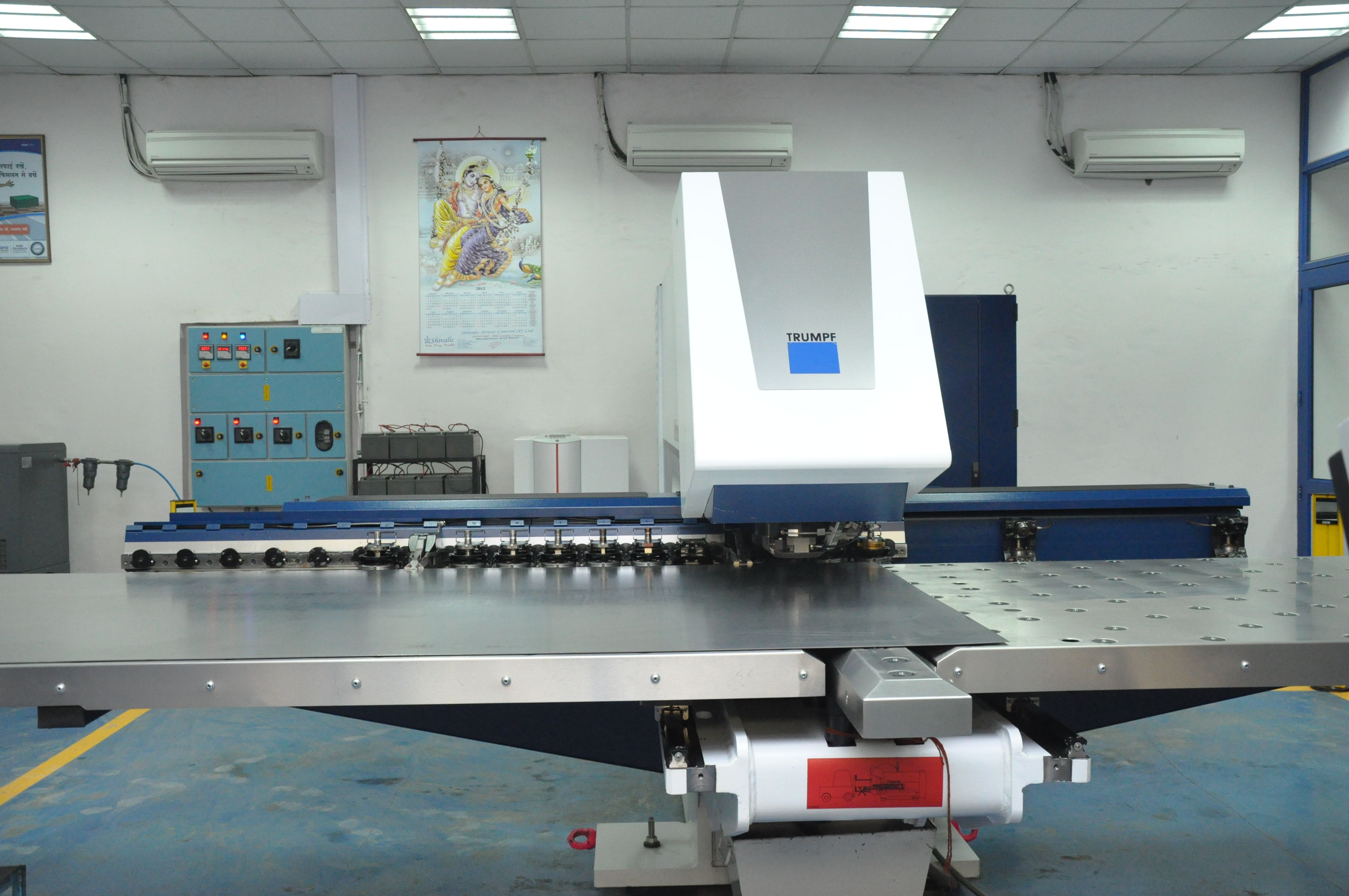 Trumpf Punching German We Have Cnc Turret Punch Press Of German Make M S Trumpf Which Is World Leader In Punching Technology Bed Sizes Trumpf Basic Shapes