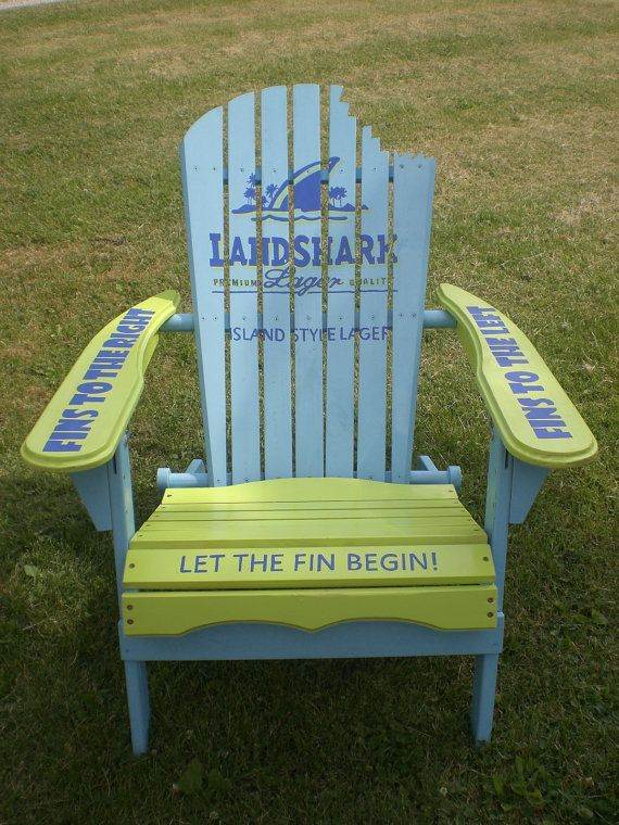 DIY How To Paint Adirondack Chair Plans Free Sharks Pinterest - sillas de playa