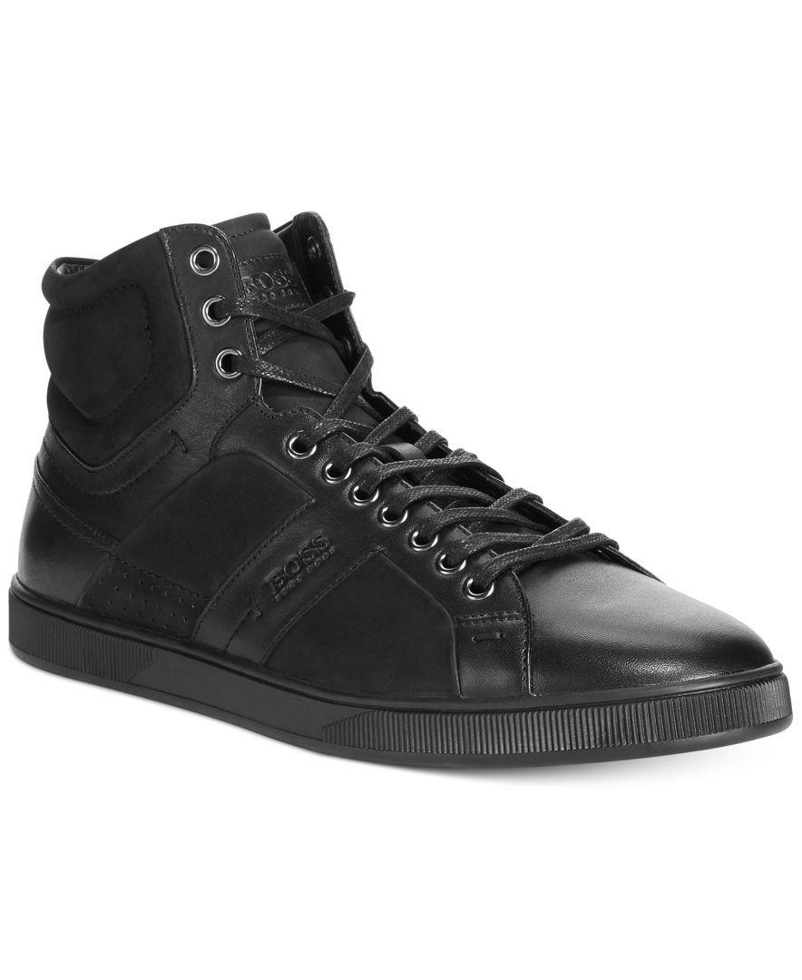 Hugo Boss Acron High-Top Sneakers