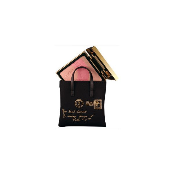 Palette Y-Mail de YSL | Vogue ❤ liked on Polyvore featuring fillers, beauty, makeup, bags and cosmetics