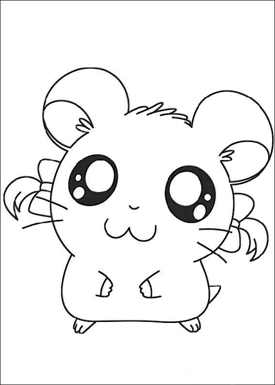 Hamtaro Coloring Pages 9 Cute Coloring Pages Pokemon Coloring Pages Coloring Books