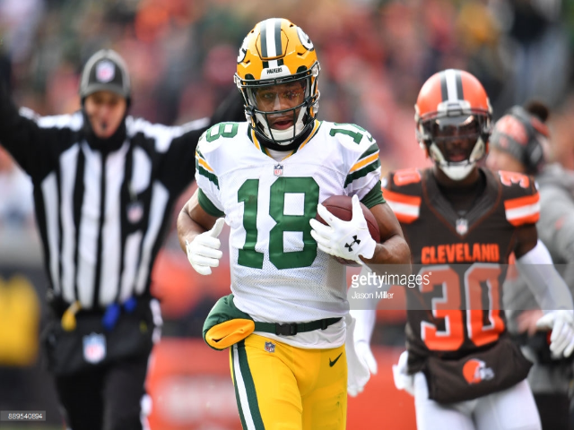 Fantasy Football Rebound Candidate Randall Cobb (With