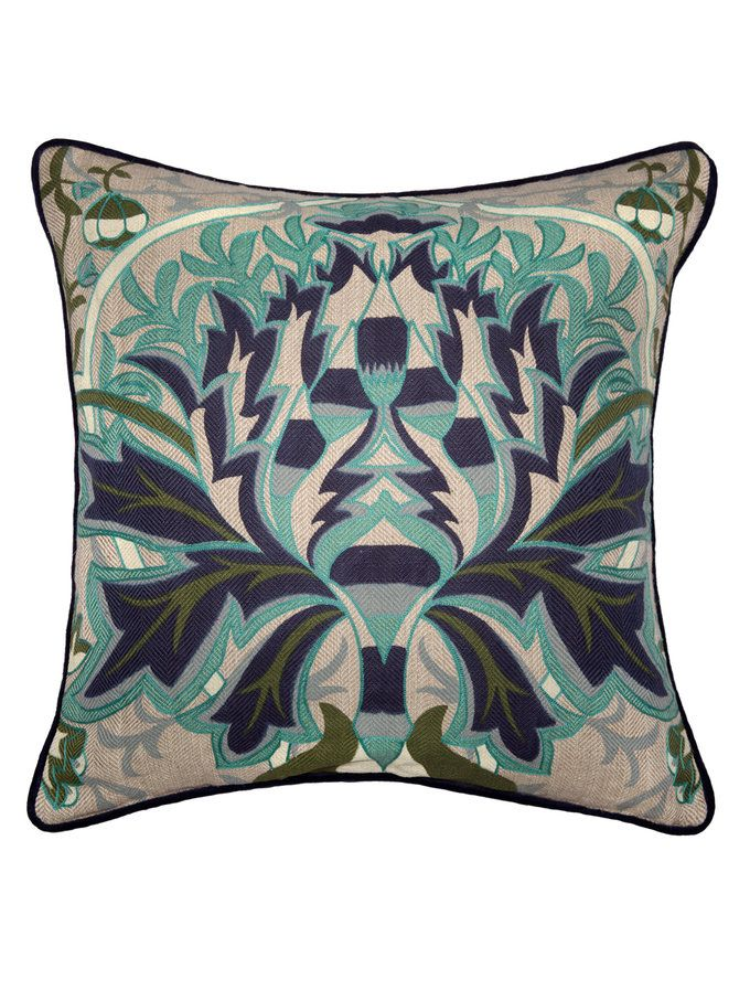Liv Cotton And Linen Pillow From Kosas Home: Furniture, Lighting