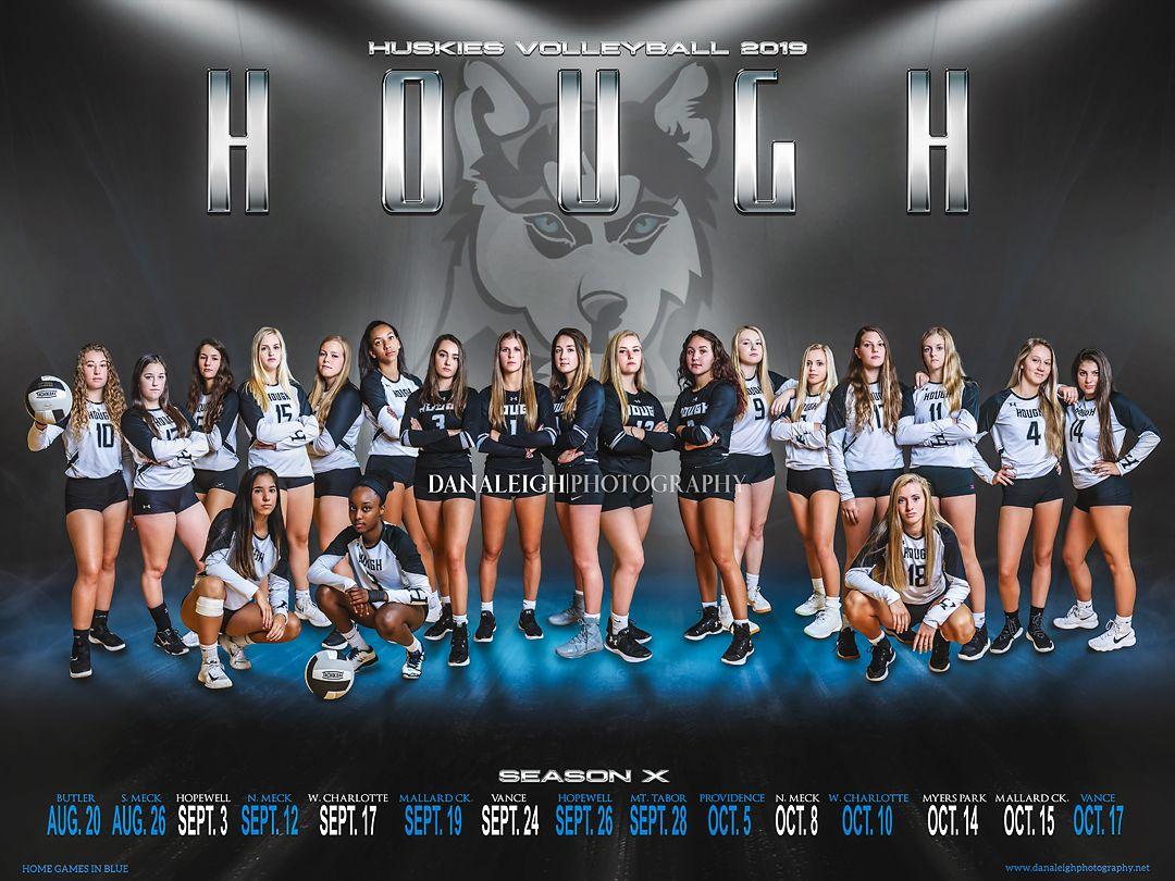 Girls Volleyball Team Photo Team Poster Banner Poses Girls Volleyball Volleyball Team Photos Sports Photograph Volleyball Photography