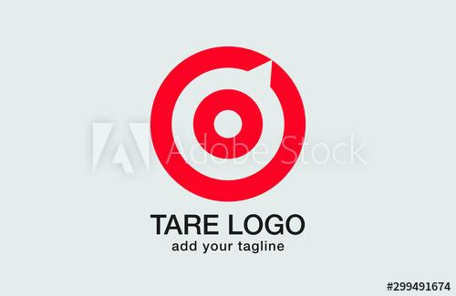 Target Logo Design On Red Ash And Grey Backgournd The Logo Represents Red Aim Arrow Compass Speech Bubble I Abstract Logo Logo Design Graphic Design Logo