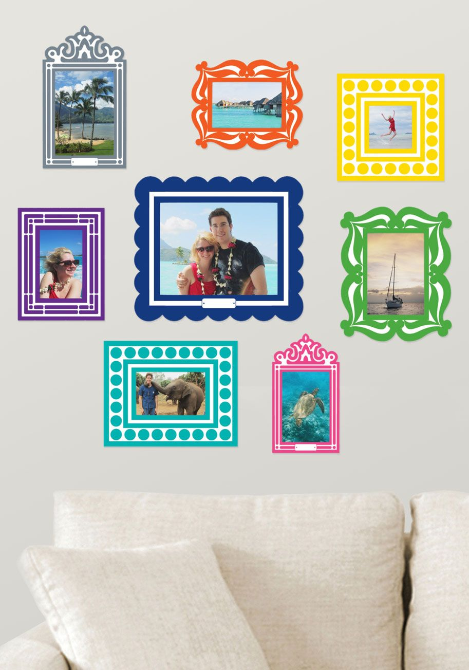 Twine After Time Photo Hanger Kit Wall Decals Dorms Decor And Dorm - Wall decals picture frames