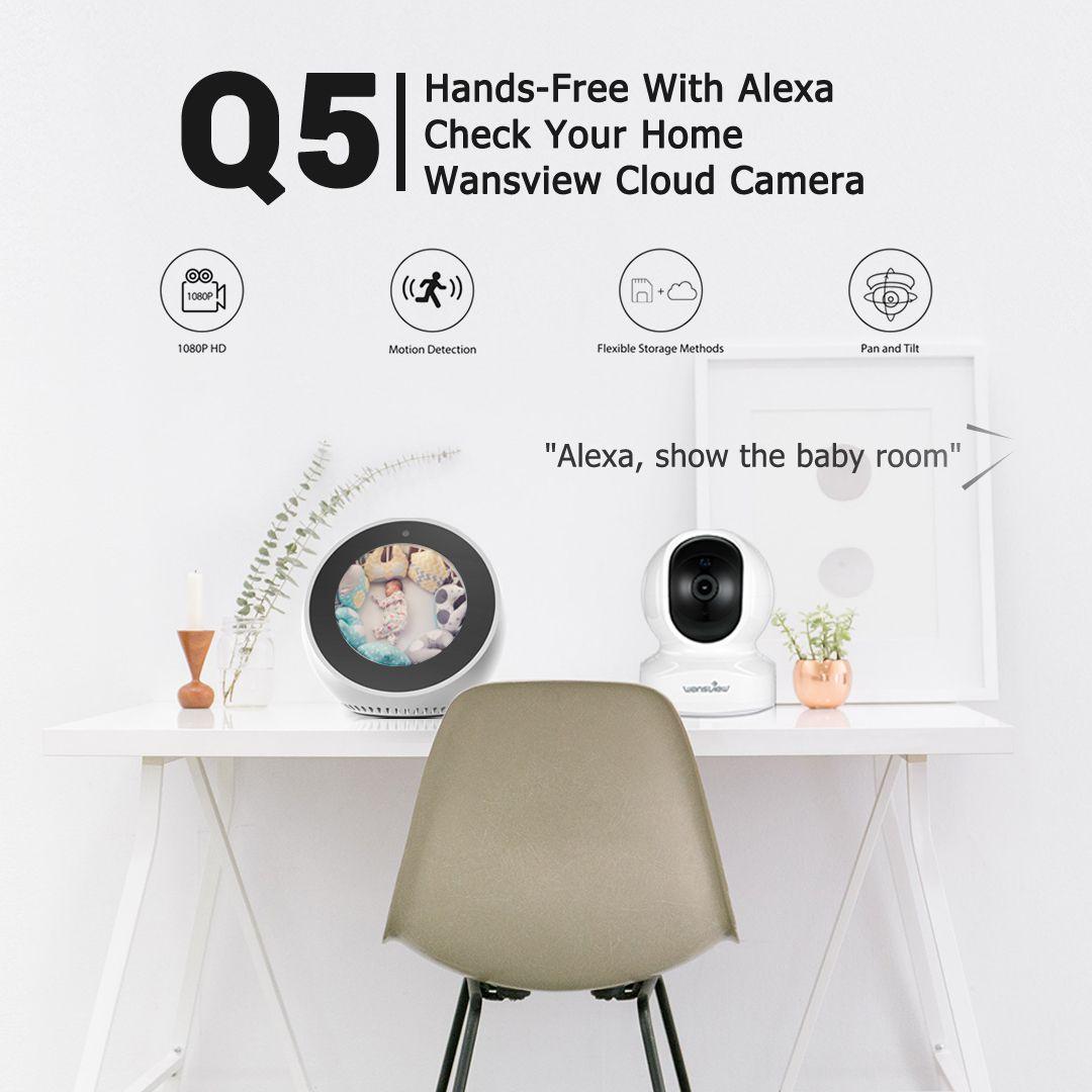 2019 的 Get our new Wansview Cloud Camera Q5 which works with Alexa