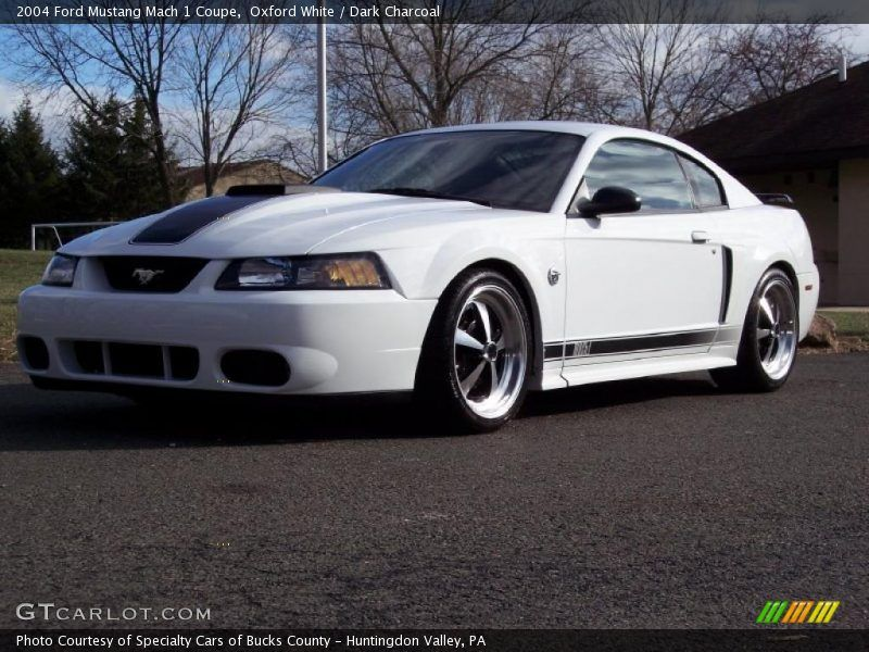 Oxford White 2004 Ford Mustang Mach 1 Coupe Exterior Photo ...