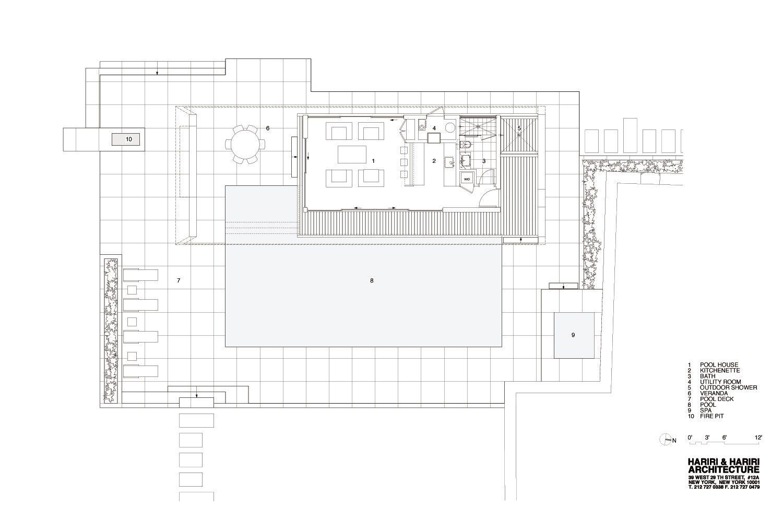 Wilton Pool House By Hariri Hariri Architecture Pool