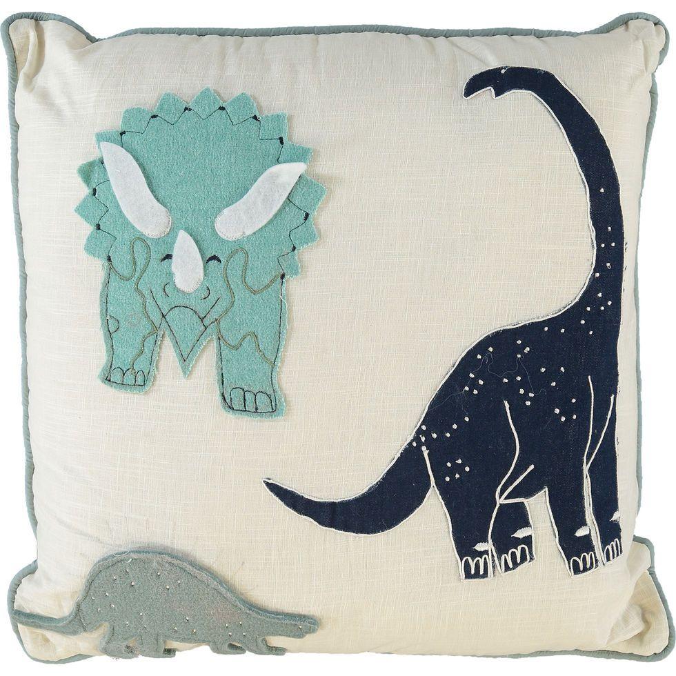 Dinosaur Shaped Throw Pillow Kid Room