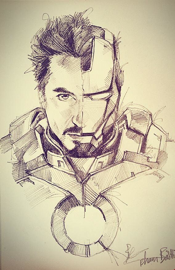 Avengers pencil sketch, BaoHoa Pham