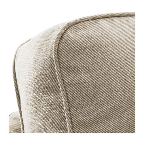 Ektorp Dark beige, Corner and Ektorp sofa - beiges bad