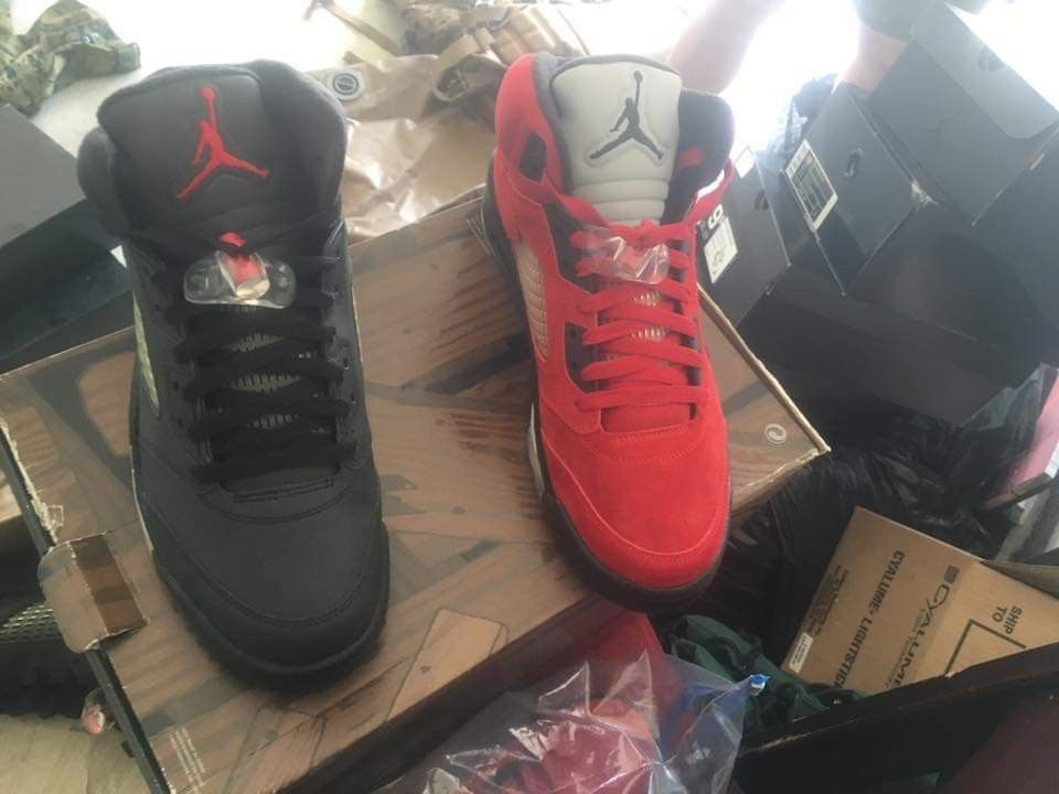 outlet store 8f537 e9d43 air jordan 5 retro raging bull pack  fashion  clothing  shoes  accessories   mensshoes  athleticshoes (ebay link)