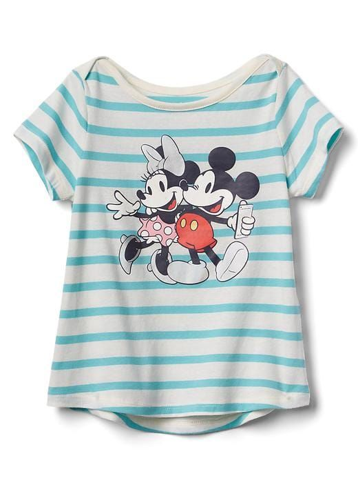 6a8f6e081 Gap Baby Babygap | Disney Baby Mickey Mouse And Minnie Mouse Hi-Lo Tee  Mickey And Minnie Size 18-24 M