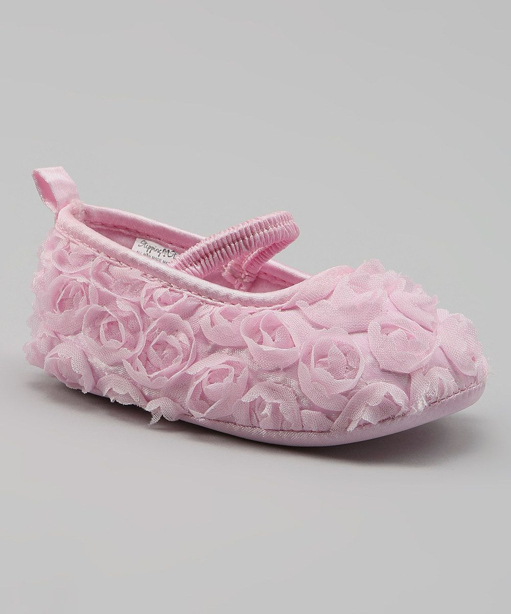 Look at this Stepping Stones Pink Swirl Flat on #zulily today!