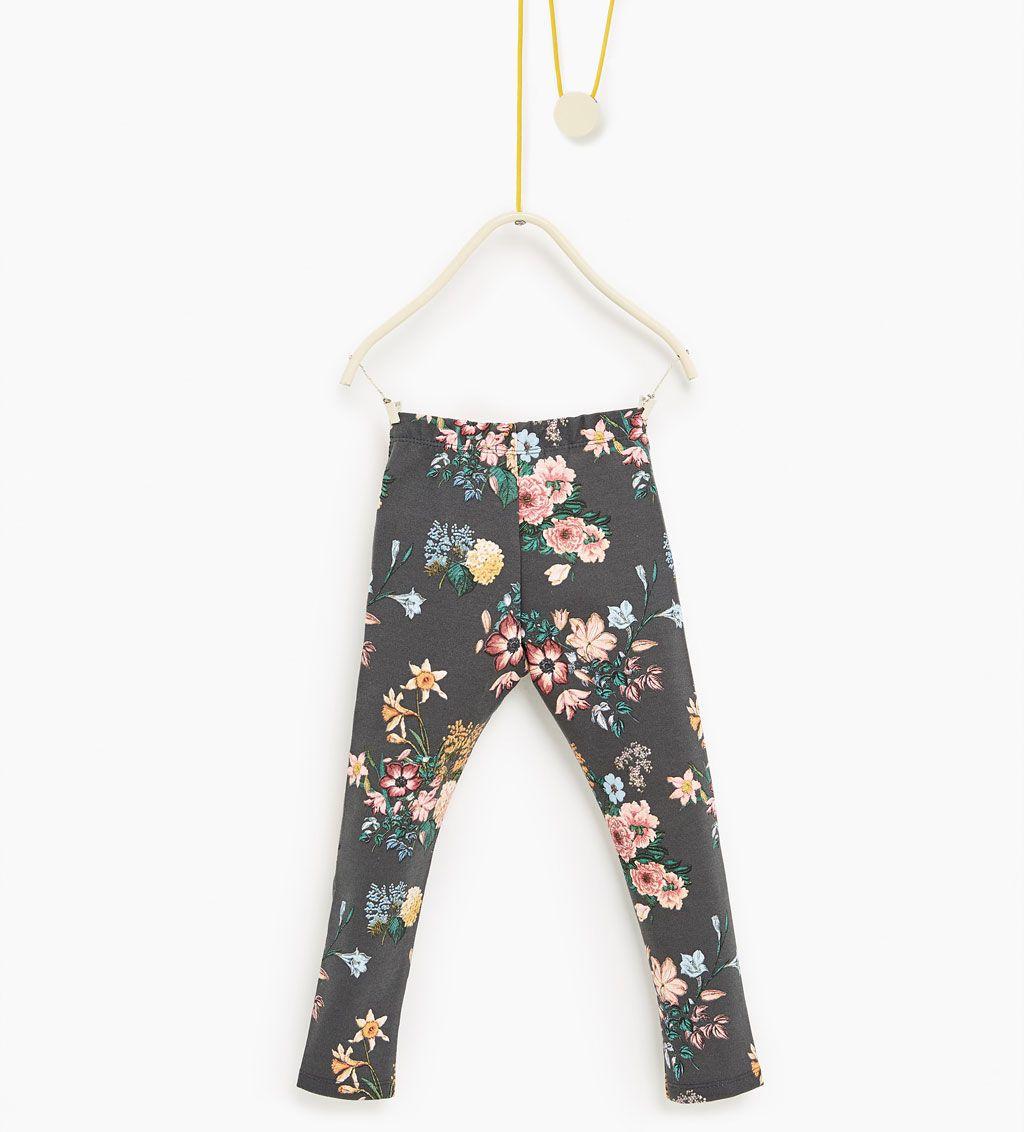 ZARA - KIDS - Printed piqué trousers