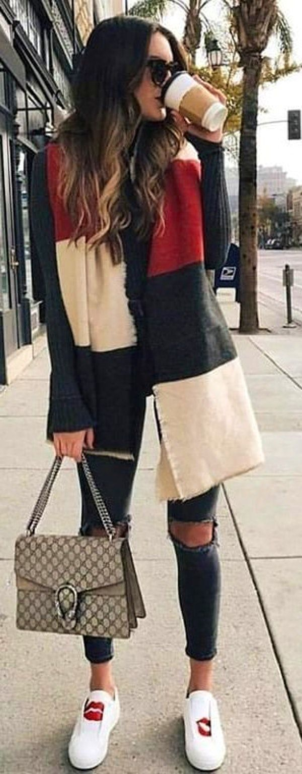 spring #outfits woman wearing red zip up jacket, fitted