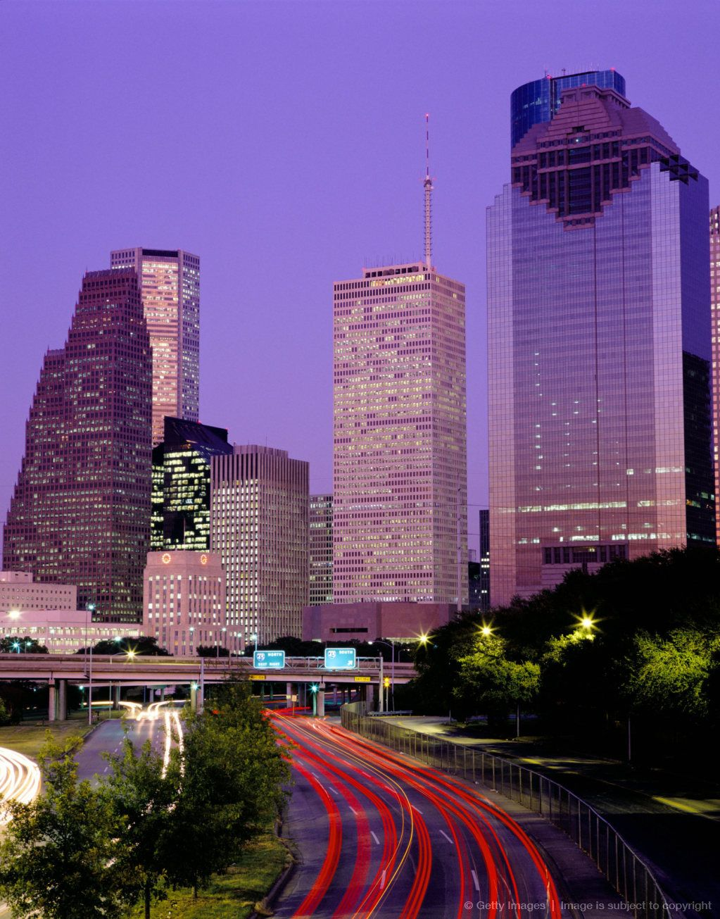 Did A Drive Through Past The Houston Skyline In Texas Houston Skyline Places Places To Go