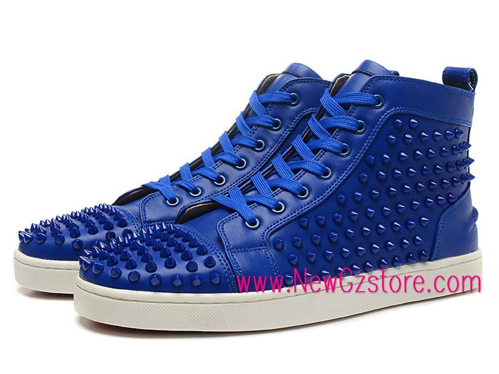 meilleure sélection 4fa3e 5876b Christian Louboutin LOUIS FLAT SPIKES Chaussures Pour Femme ...