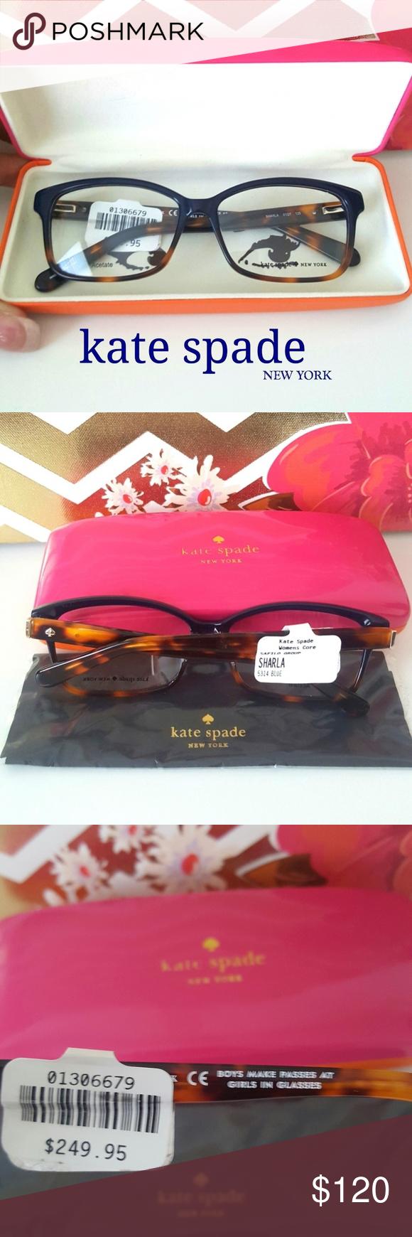 5cce958d06f NEW!! kate spade Rx glasses  blue tortoise  Kate Spade Sharla eyeglasses  boast