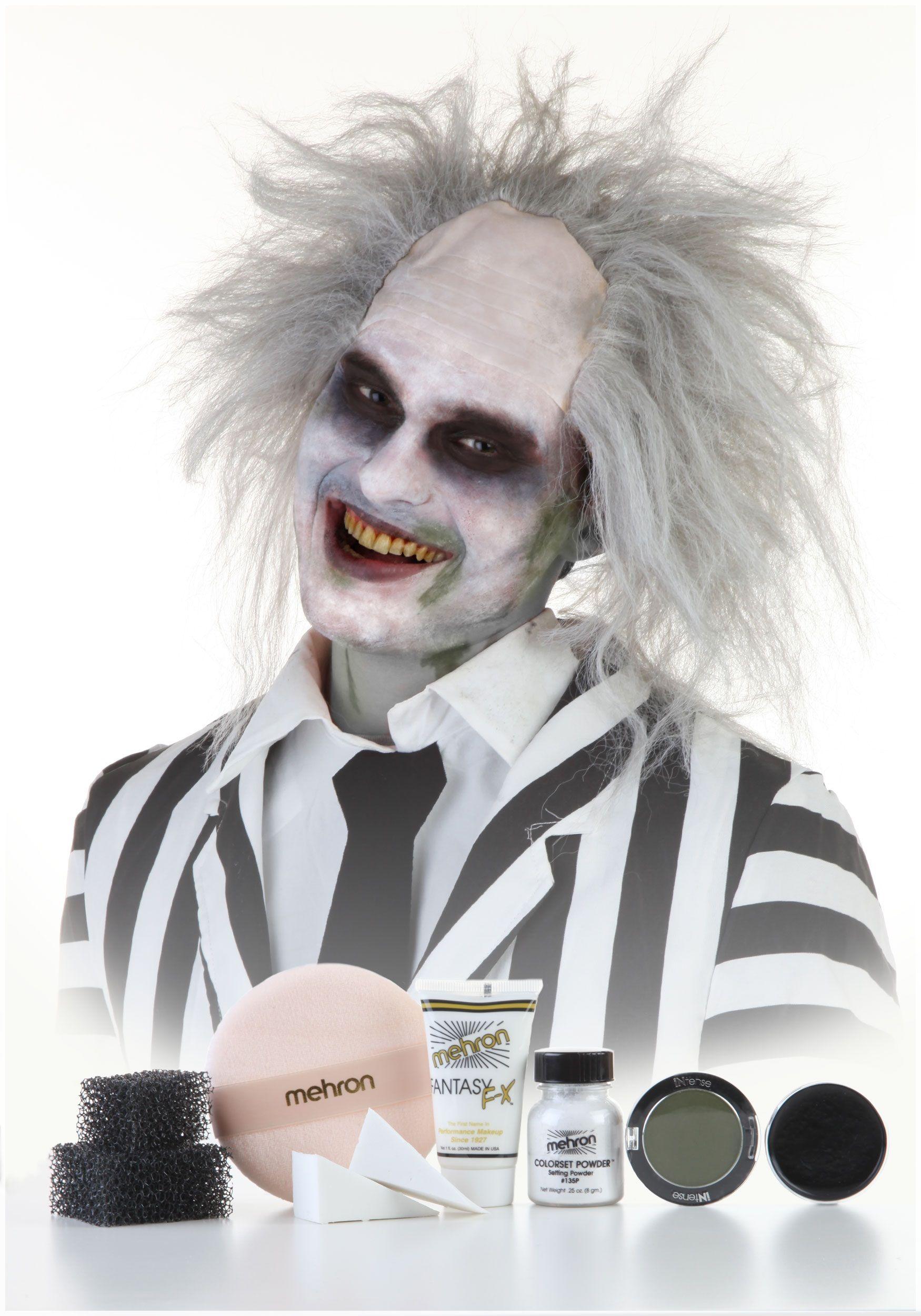 ghost makeup BeetleJuice Ghost makeup, Beetlejuice