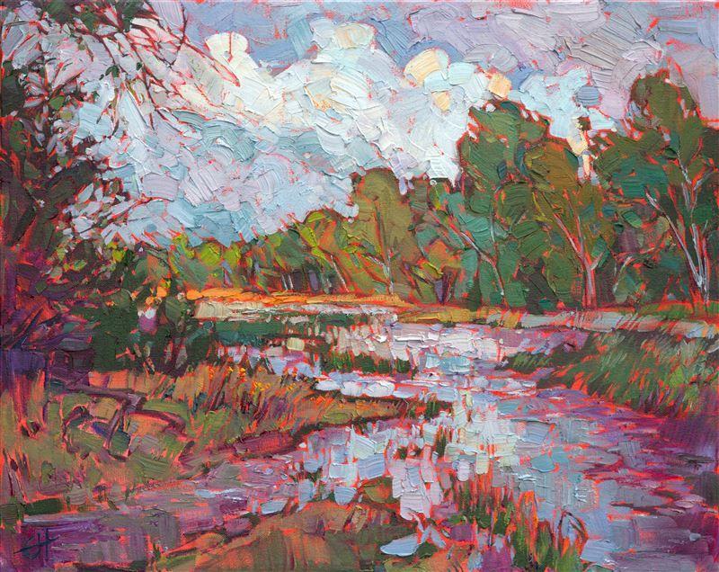 River In Color Modern Impressionism Art Painting Oil Art Painting Oil Painting Landscape