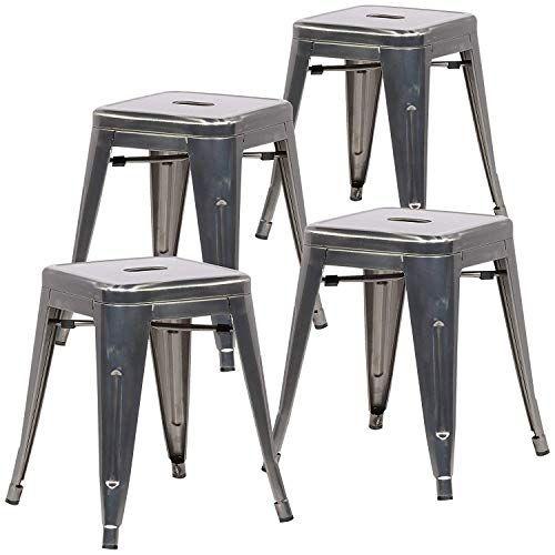 Strange Home Joy Bistro Stool Set Of 4 18 Inch Bar Chairs Commercial Short Links Chair Design For Home Short Linksinfo
