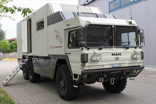 Man Kat 6x6 Expedition Truck With Images Expedition Vehicle