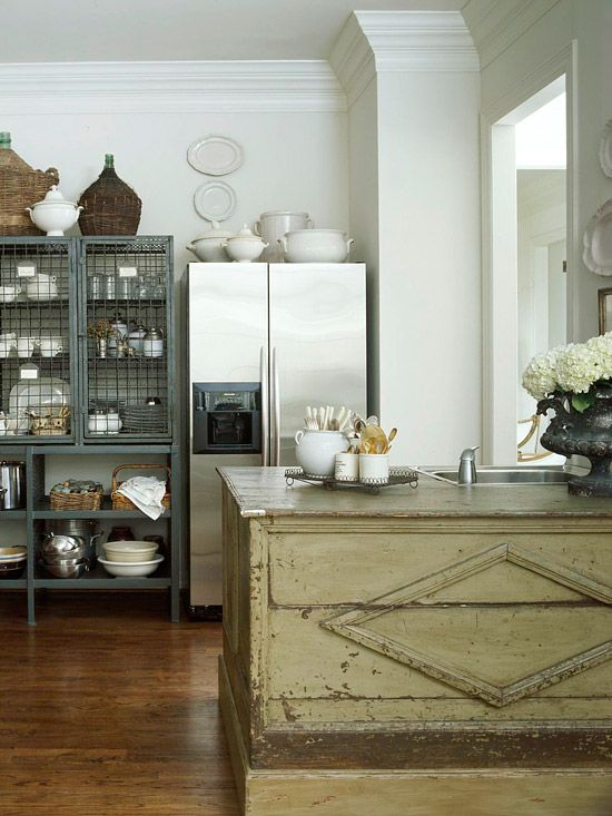 Budget Kitchen Remodeling: Under $5,000 Kitchens   Creative Storage, Open  Shelving And Bakeware