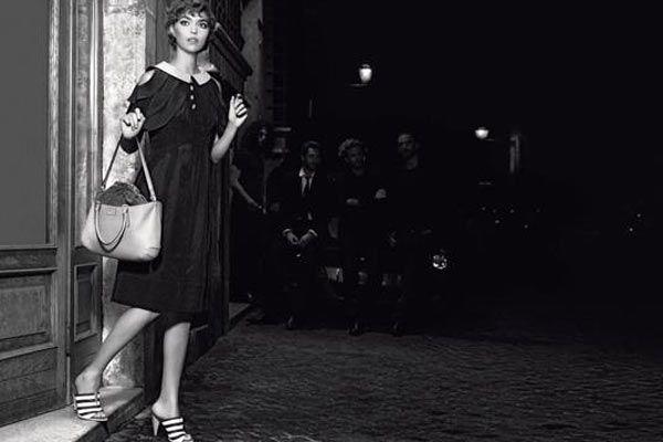 Karl Lagerfeld, photographe pour #Fendi #karllagerfeld #photo #fashion