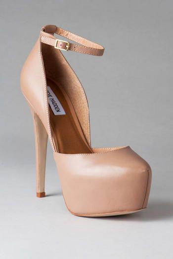9149c0c23 Steve Madden Shoes, Deeny Platform Pump in Blush | Style shizz in ...