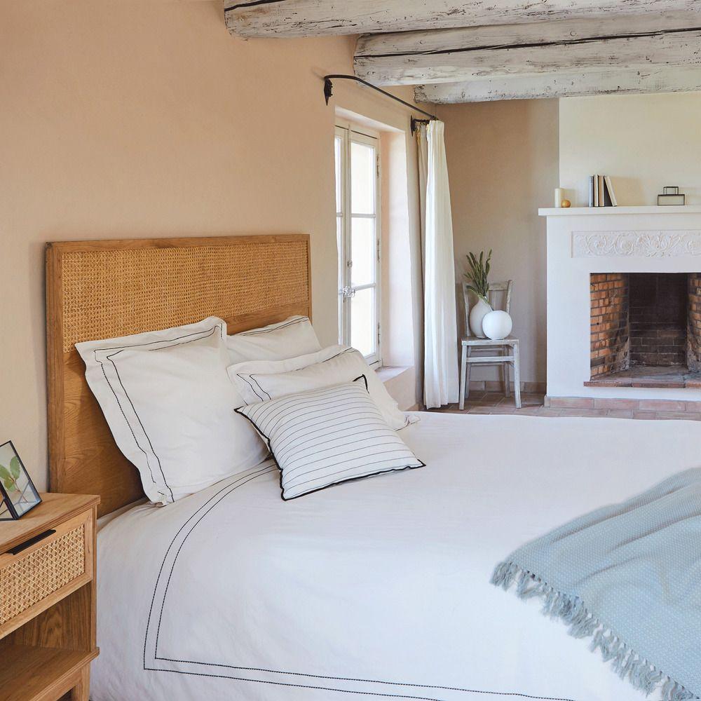 Housse De Couette 240x220cm Coton Brode Alinea Housse De Couette Decoration Maison
