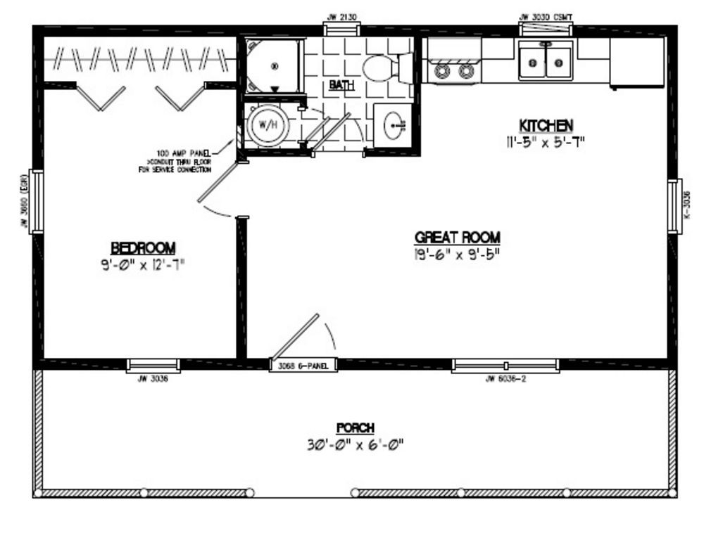 Image Result For 14x40 Cabin Floor Plans Shed House Plans Tiny House Floor Plans Loft Floor Plans