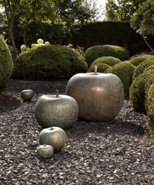 La pomme un objet de d co pour tous les d cors d co pinterest ceramique deco et jardins - Pomme ceramique pour decoration ...