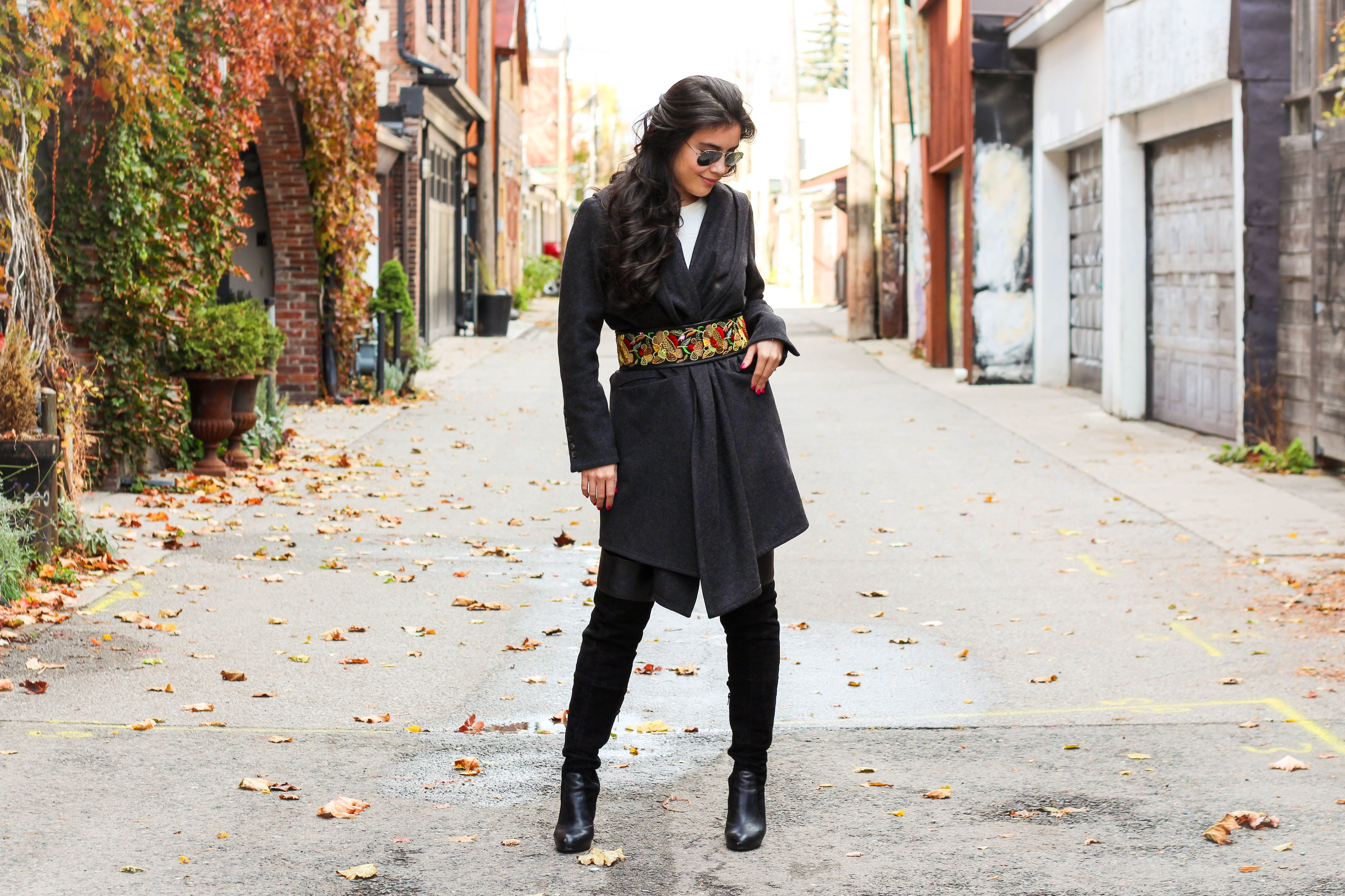 Belted - #Outfit post from Toronto Blogger Jocelyn Caithness