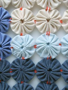 Mini Quilt of the Month, May: Yo-Yo Coverlet   Purl Soho - Create