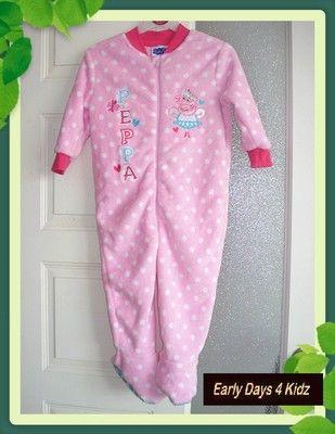Baby girls official peppa pig pyjamas 067e1b226