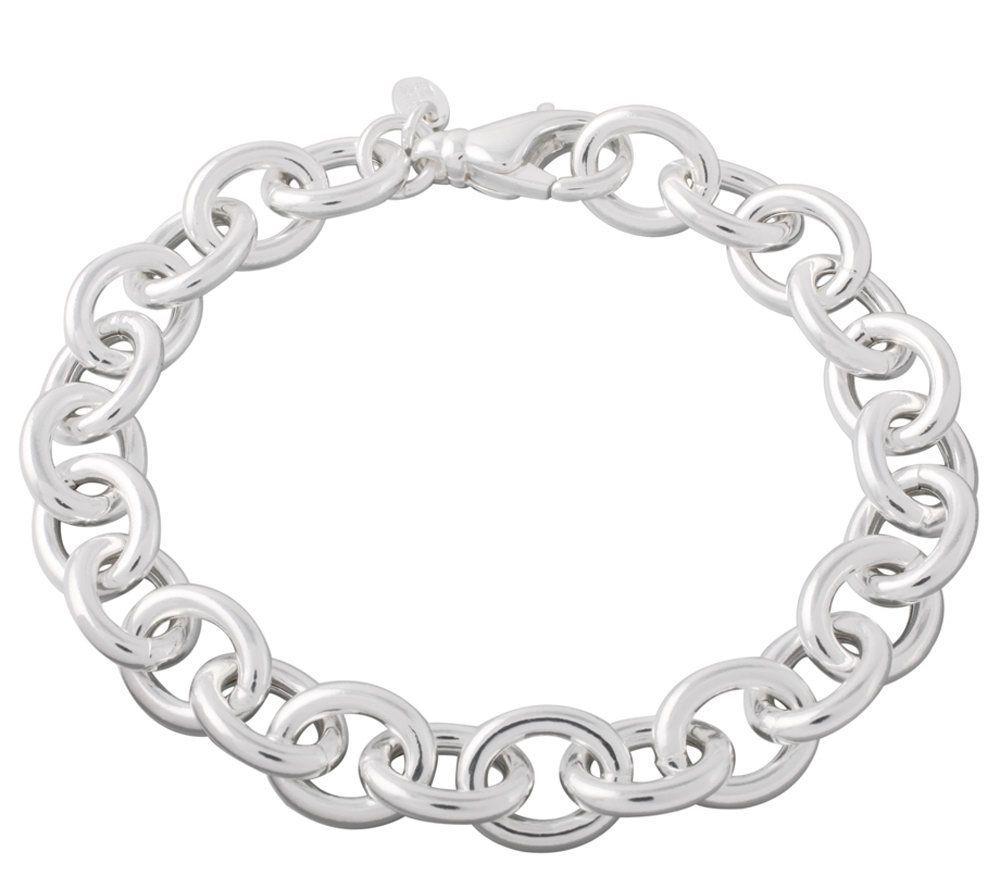"UltraFine Silver 7-1/4"" Rolo Link Bracelet | $67.00 #Jewelry #Shine #Sparkle #Bling | Visit WISHCLOUDS.COM for more…"
